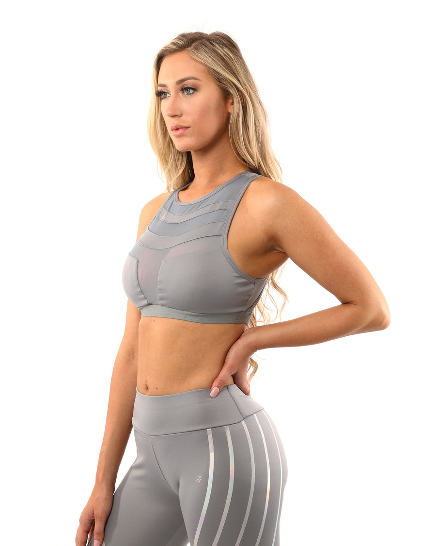 Laguna Sports Bra - Grey