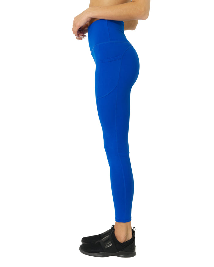 Load image into Gallery viewer, High Waisted Yoga Leggings - Sky Blue - Savoy Active