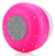 Bluetooth Shower Speaker - Red/Pink