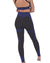 Trois Seamless Legging - Black with Navy
