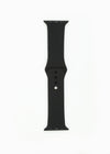 Silicone Apple Watch Band - Black