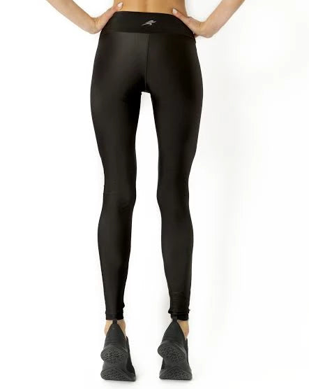 Samba Ultra-Stretch UV Protected Compression Leggings - Black - Savoy Active