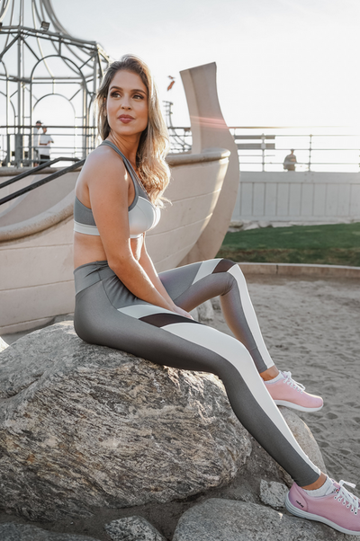 Copacabana Ultra-Stretch Leggings - Zinc