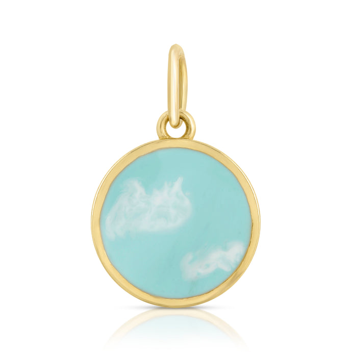 """Sky Eternity"" Charm-NO CHAIN"