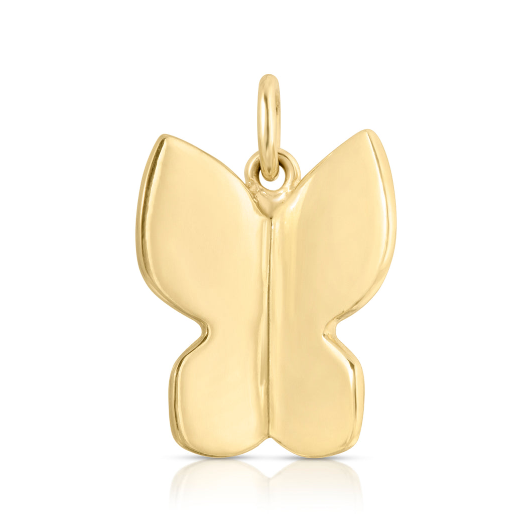 Large Butterfly CHARM-NO CHAIN