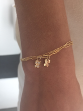 "Load image into Gallery viewer, Small ""Butterfly"" Bracelet -No Diamond-Website Exclusive"