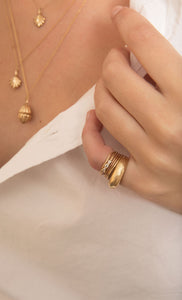 The Little Bow Ring | Hortense Jewelry - cruelty free gold rings, exclusive designer gold rings, pure gold designer rings