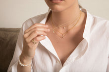 Load image into Gallery viewer, The Mini-Mini Me Pearl Necklace | Hortense Jewelry - affordable designer necklaces, handcrafted ethical necklaces, exquisite gold necklace