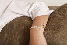 Load image into Gallery viewer, The Bianca Pearl bracelet | Hortense Jewelry - custom handmade bracelets, beautiful handmade bracelets, handmade bracelets and necklaces