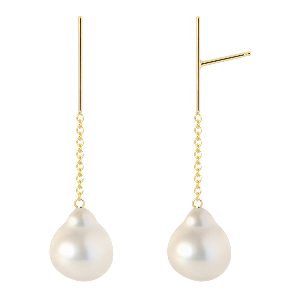 The Little Dancers-Earrings/Baroque Pearls