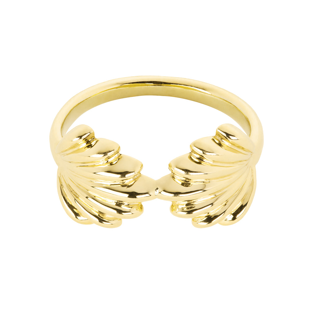 The Mishell Ring | Hortense Jewelry - handcrafted 14k gold ring, exquisite 14k gold ring, minimalist 14k gold ring