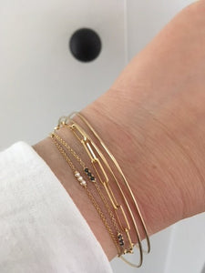 New Small and Large Link bracelet-Website Only | Hortense Jewelry - custom handmade bracelets, beautiful handmade bracelets, handmade bracelets and necklaces