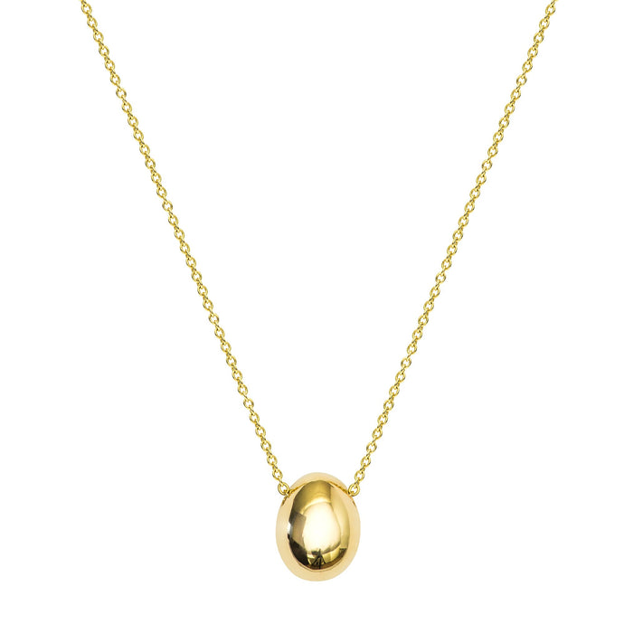 Precious Life-Large Egg pendant Necklace