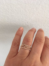 "Load image into Gallery viewer, ""Bonjour"" Ring 