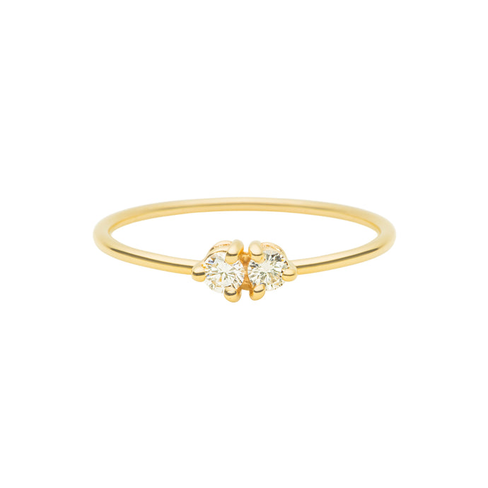 By your side Ring | Hortense Jewelry - ethical diamond rings, delicate designer rings, designer gold rings