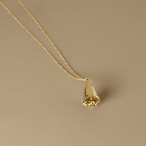 The Wishing Bell Pendant | Hortense Jewelry - affordable designer necklaces, handcrafted ethical necklaces, exquisite gold necklace