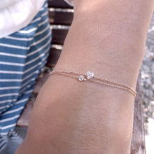 Load image into Gallery viewer, Je t'aime Bracelet-Diamond | Hortense Jewelry - custom handmade bracelets, beautiful handmade bracelets, handmade bracelets and necklaces