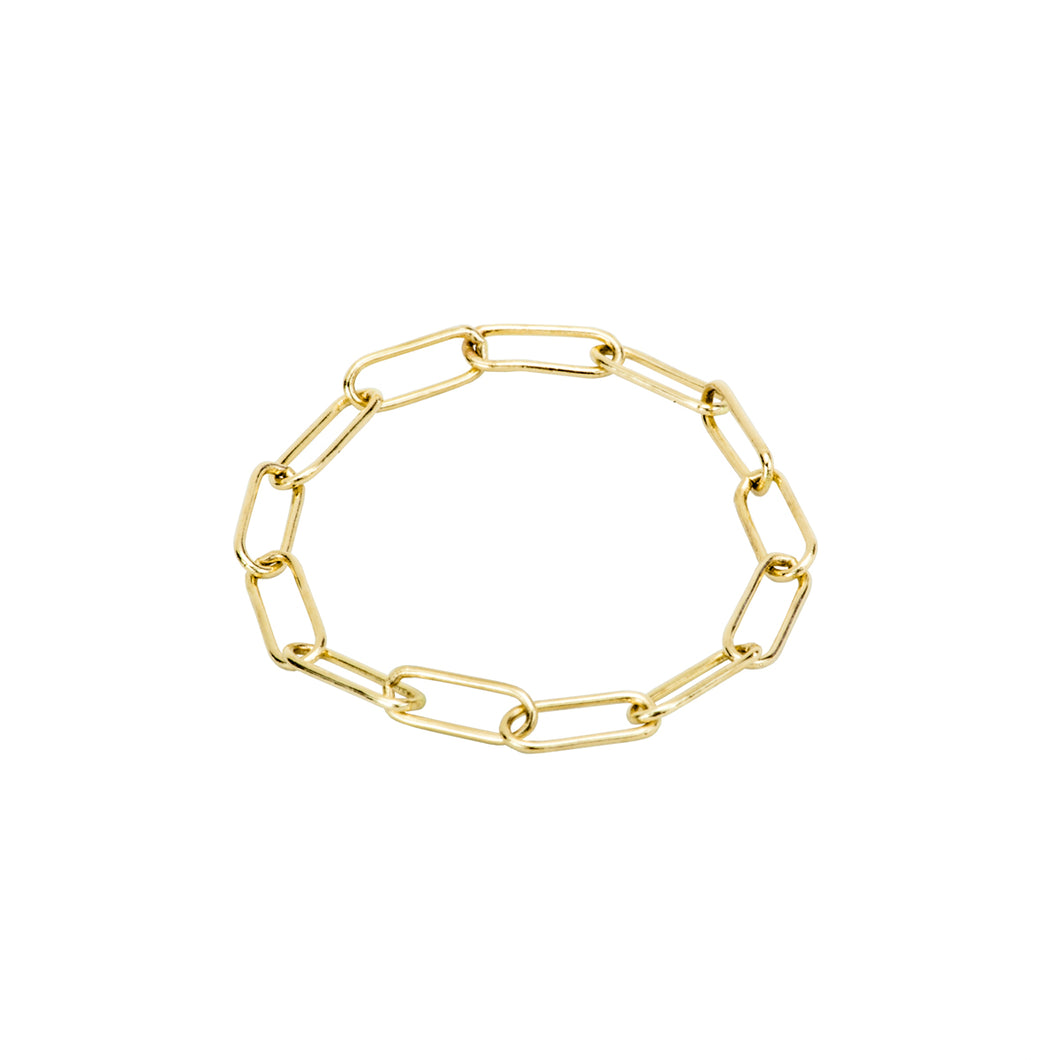 The Link Chain ring | Hortense Jewelry - ethical diamond rings, delicate designer rings, designer gold rings
