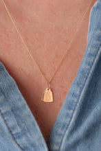 Load image into Gallery viewer, Selected for Valentine's Day 2019/Single Tag Necklace-Cable Chain