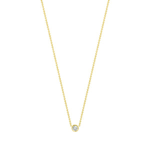 Flirty necklace-White diamond
