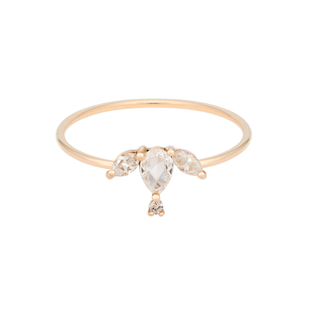 "The ""Puppy"" ring 14KYG 4.5 