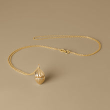 Load image into Gallery viewer, The Secret Shell box Necklace | Hortense Jewelry - beautiful handcrafted necklaces, unique handmade necklaces, handcrafted necklaces and pendants