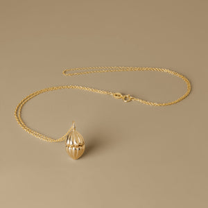 The Secret Shell box Necklace | Hortense Jewelry - beautiful handcrafted necklaces, unique handmade necklaces, handcrafted necklaces and pendants