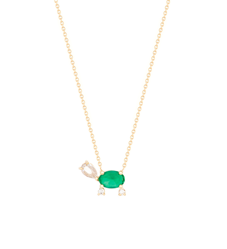 """The ""Lucky Turtle"" Necklace"