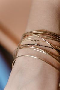 "Unshapped ""Spaghettis"" Bangle"