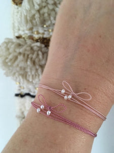 """You're a gift"" cord bracelet"