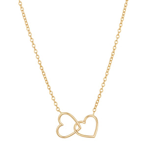 "The ""Two Hearts Together"" necklace"