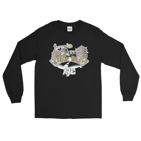 Aye - Stay Crispy Long Sleeve T-Shirt