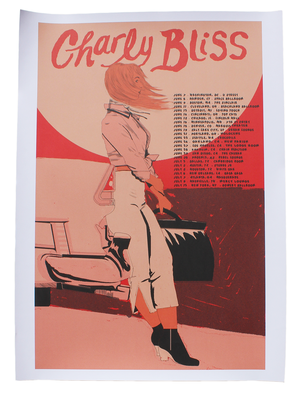 2019 TOUR POSTER - LIMITED EDITION