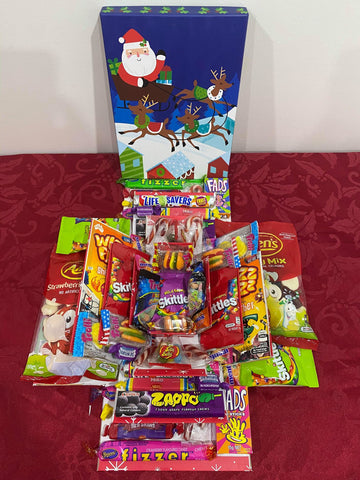 Christmas All Lolly Large Explosion Box