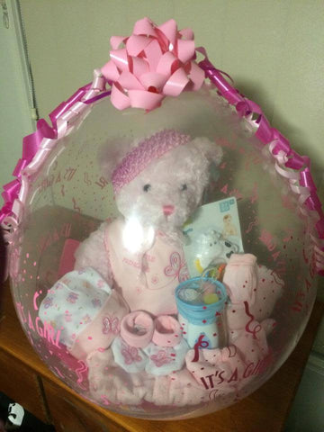 Baby Girl Balloon #02