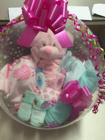 Baby Girl Balloon #03