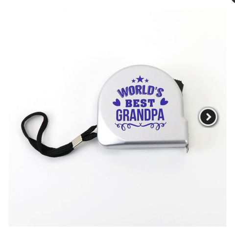 Grandpa Tape Measure