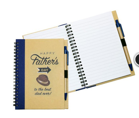 Fathers Day Notebook