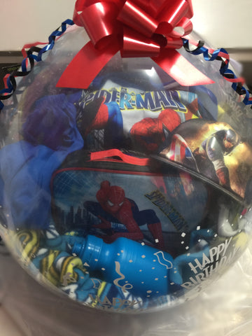 Superhero Stuffed Balloon #01