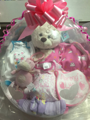 Baby Girl Balloon #06