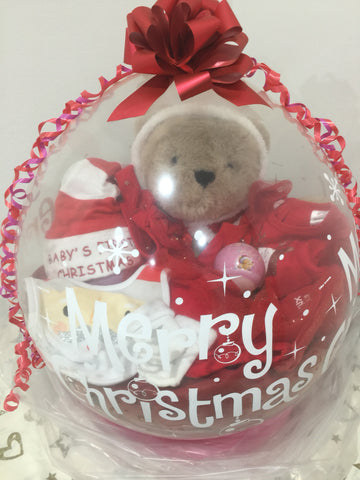 Baby's First Christmas Stuffed Balloon