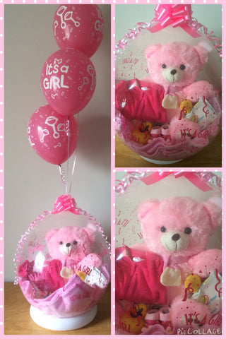 Baby Girl Balloon #12