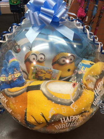 Minions Stuffed Balloon #01