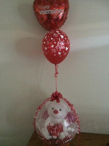 Simple & Sweet Valentines Day Balloon