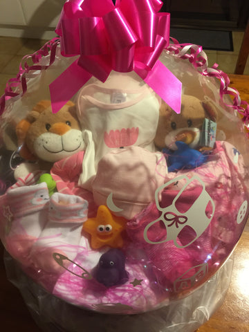 Baby Girl Balloon #01