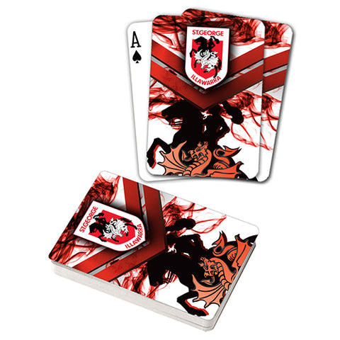 Dragons Nrl Playing Cards