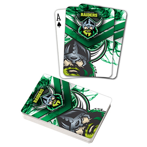 Raiders Nrl Set Of Playing Cards