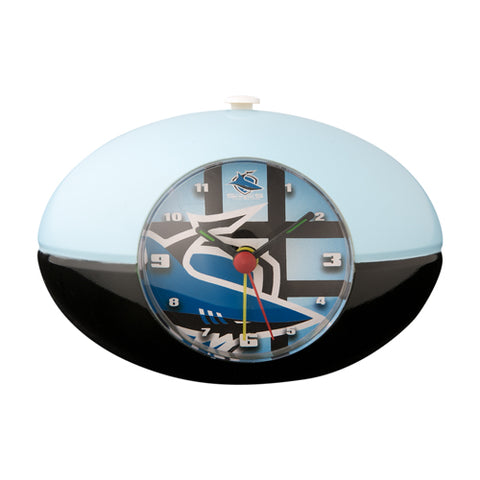 Sharks Nrl Footy Desk Clock