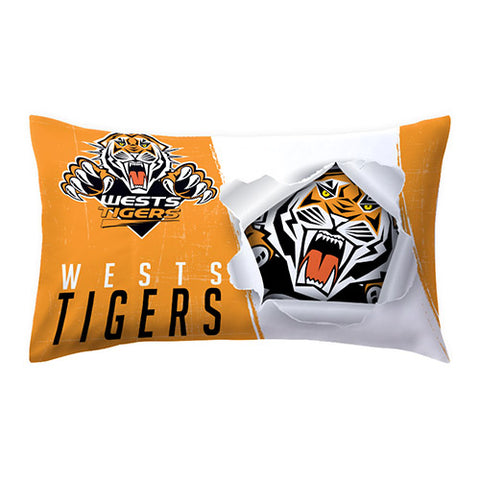 West Tigers Nrl Pillow Case