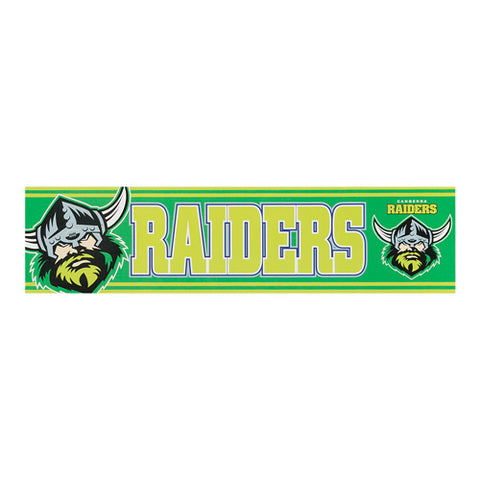Raiders Nrl Bumper Sticker